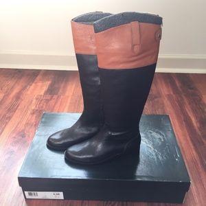 Lauren Ralph Lauren Jenessa Black/Polo Riding Boot